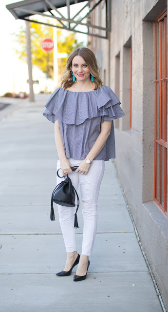 MLM Ruffle Top + Windy Day