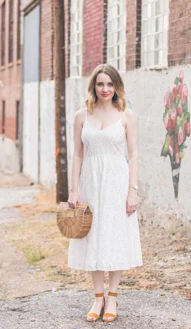 Old Navy White Lace Dress with Cult Gaia