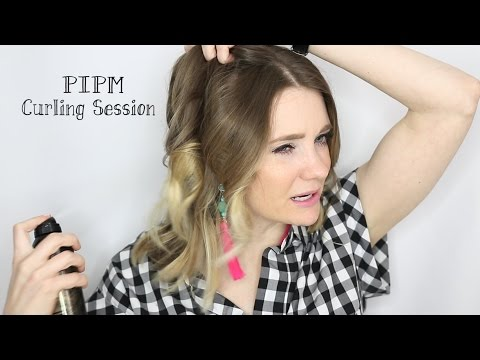 Hair Curling Tutorial + Recent Beauty Buys