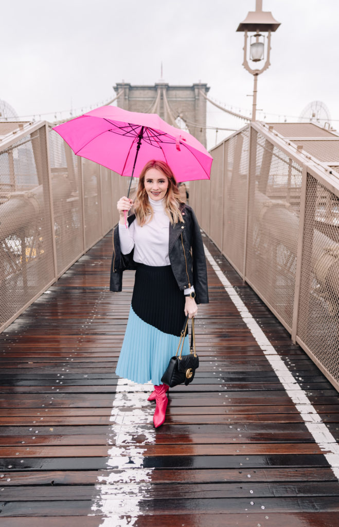 Brooklyn Bridge in the Rain