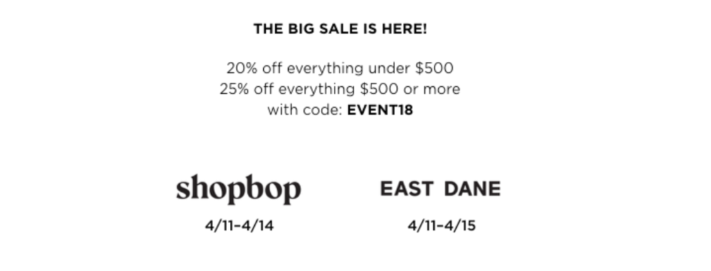 Shopbop Sale Purchases