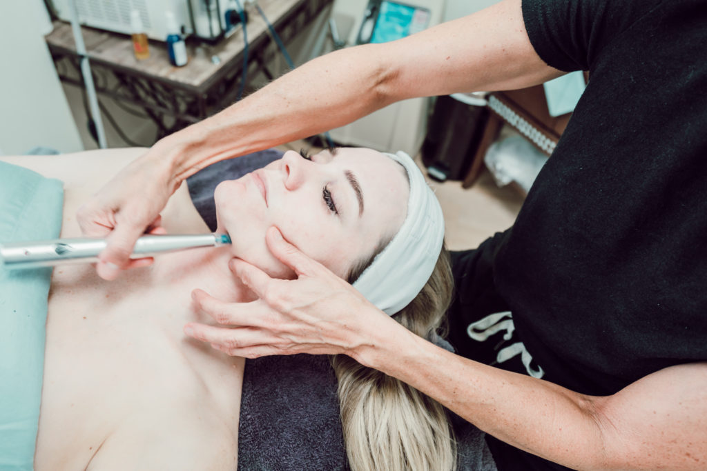 Stem Cell Microchanneling & Calorie Burning Facial with Esthetiques Memphis