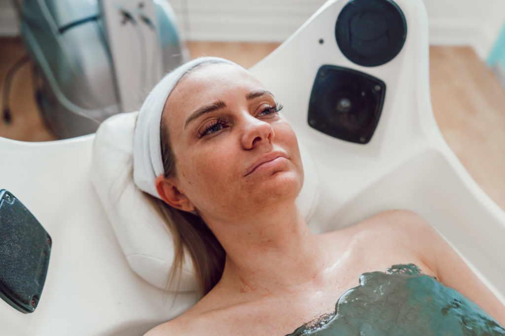 Cryogenic Firming Body Mask with Esthetiques