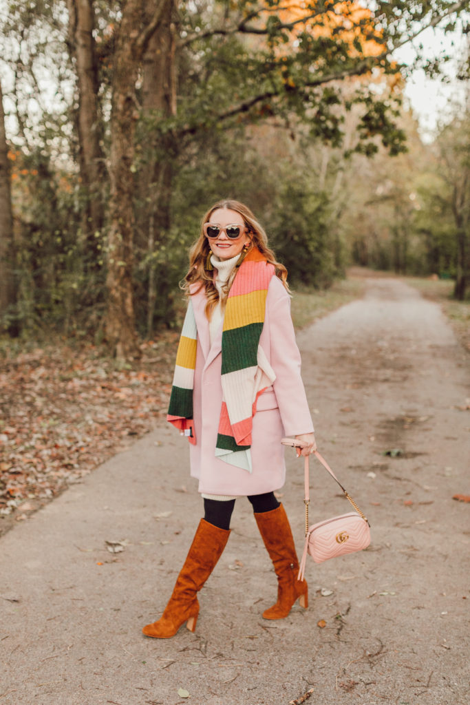 Colorful Fall Outfit + Best Comfy Boots