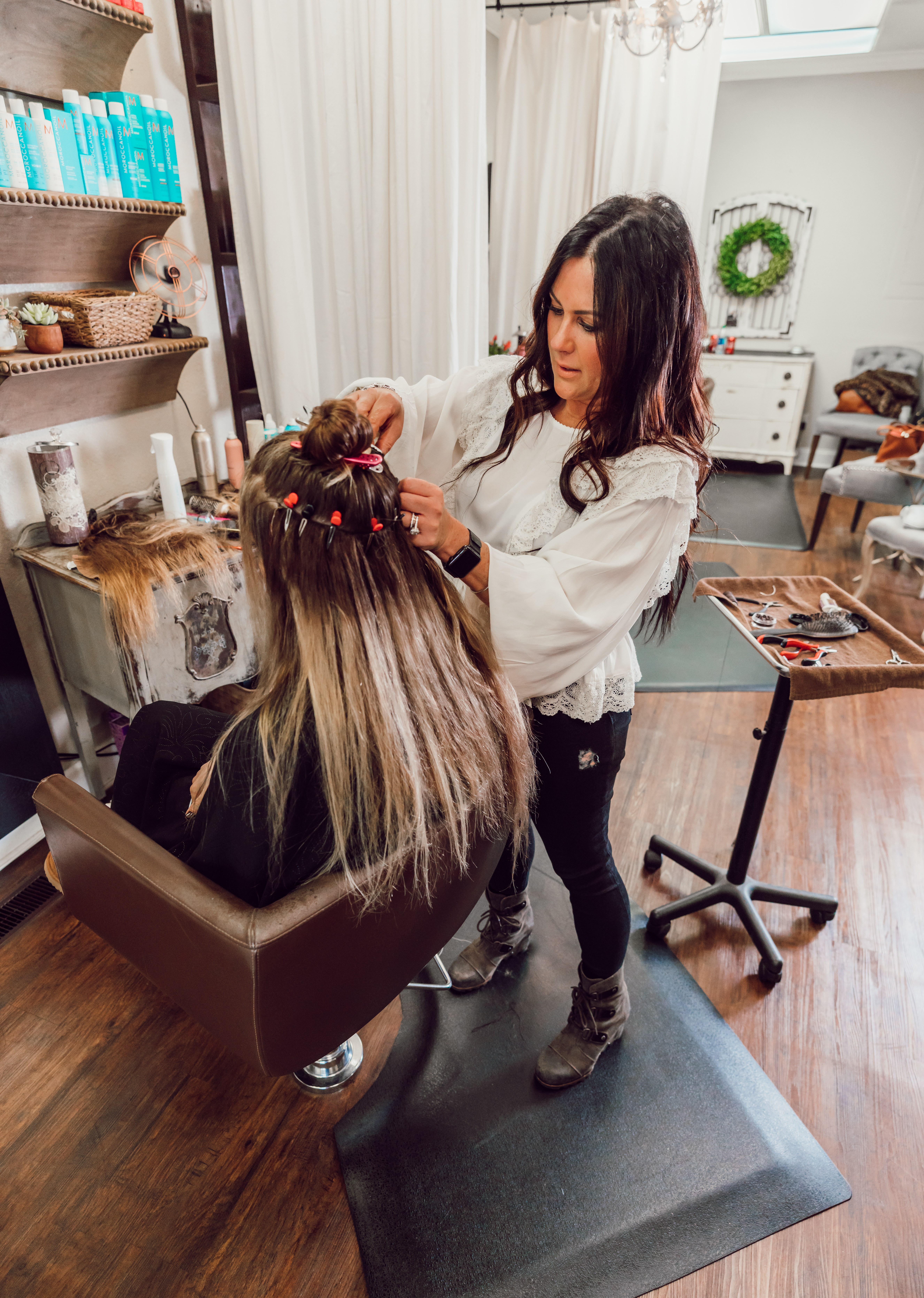 Amanda Santana Bbw my experience and review of natural beaded rows hair