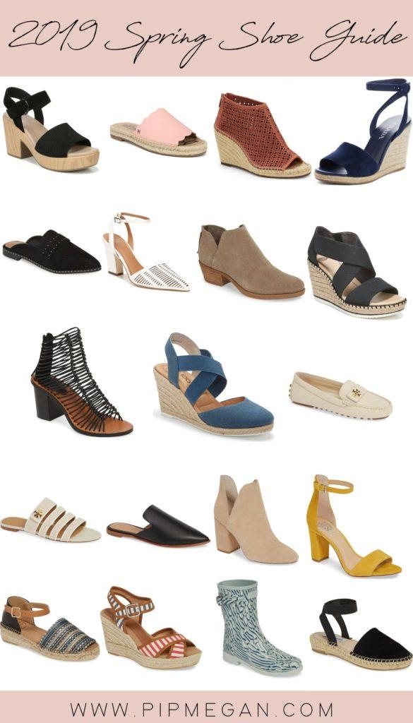 2019 Spring Shoe Shopping Guide