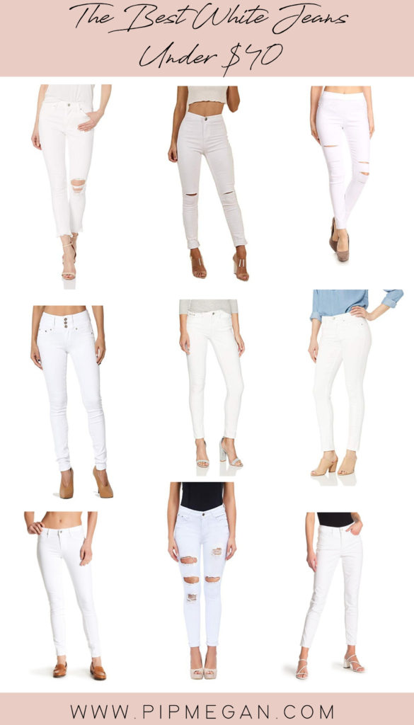 The Best White Jeans Under $40