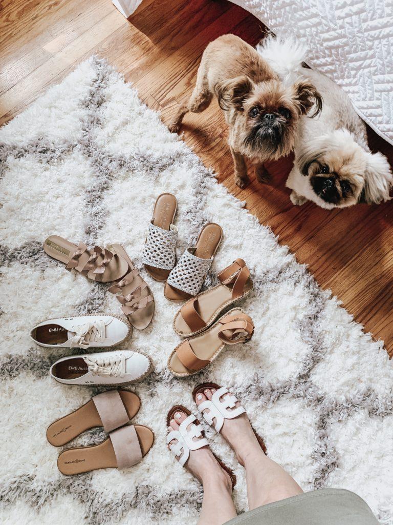Six Really Cute Flat Summer Sandals