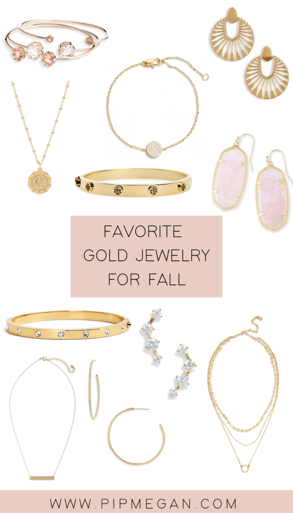 Favorite Gold Jewelry For Fall
