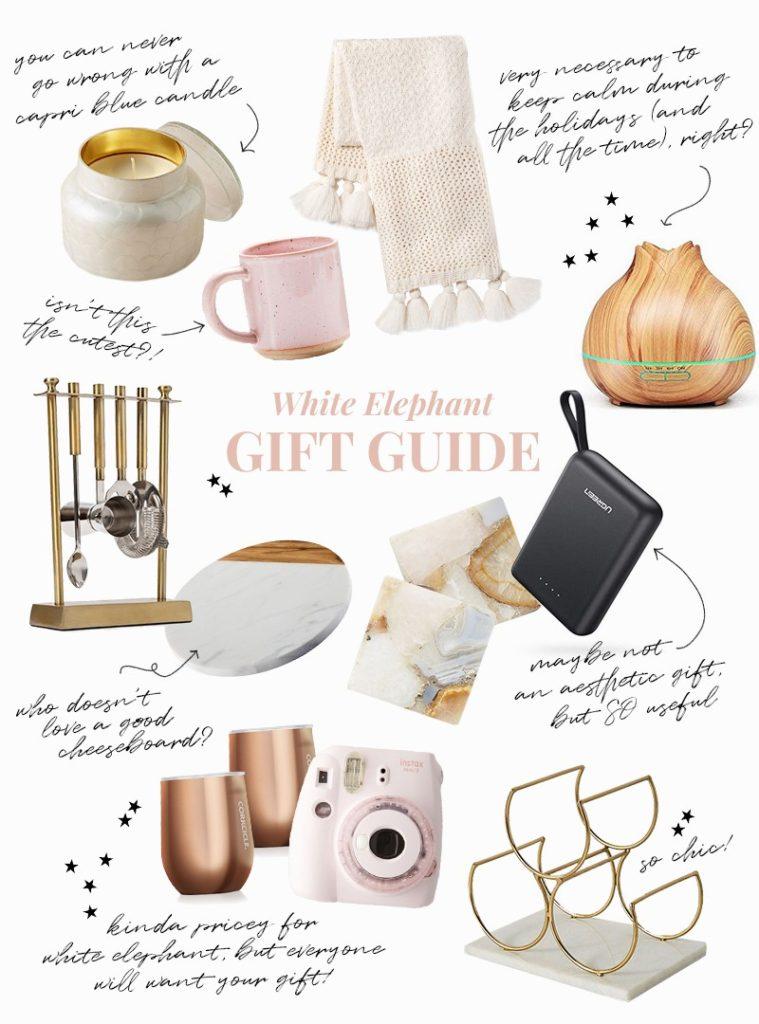Gift Guides 2019: White Elephant