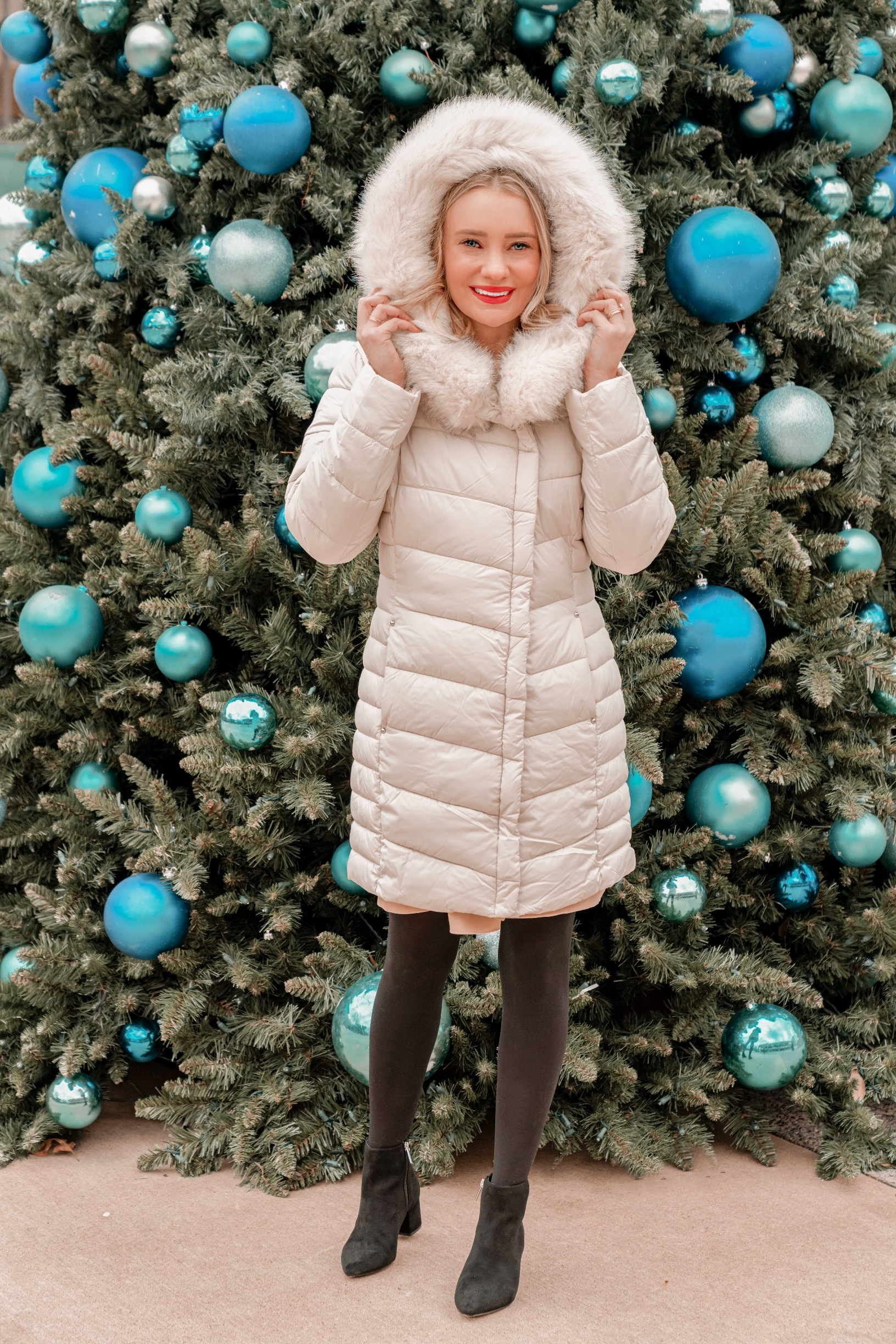 How to Style Your Parka Puffer Jacket This Winter - Pretty in Pink Megan