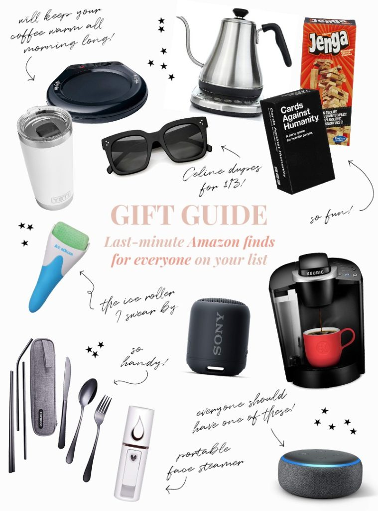 Gift Guide: Last-Minute Amazon Finds