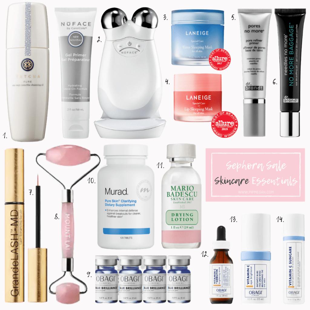 Sephora Skincare Essentials