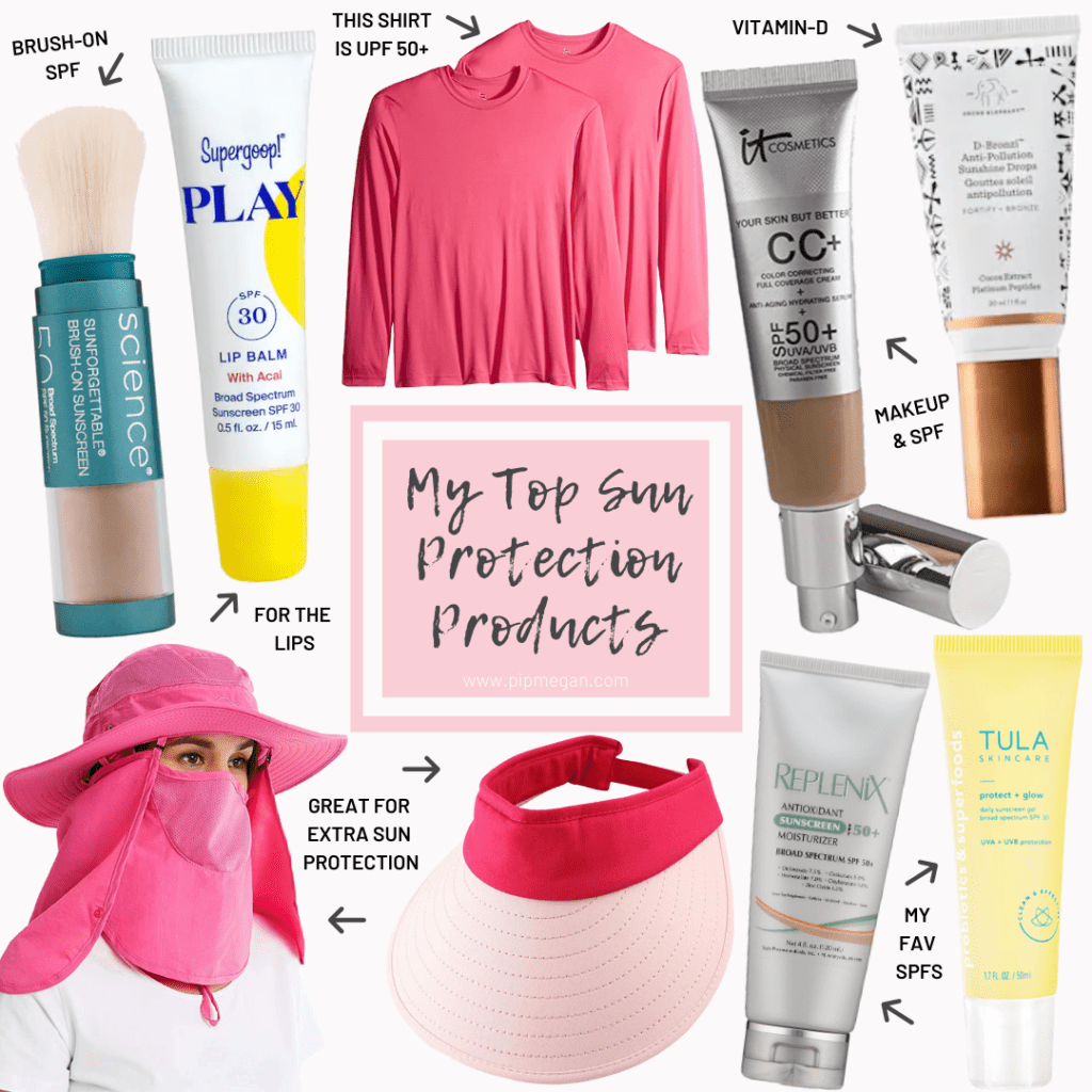 My Top Sun Protection Products