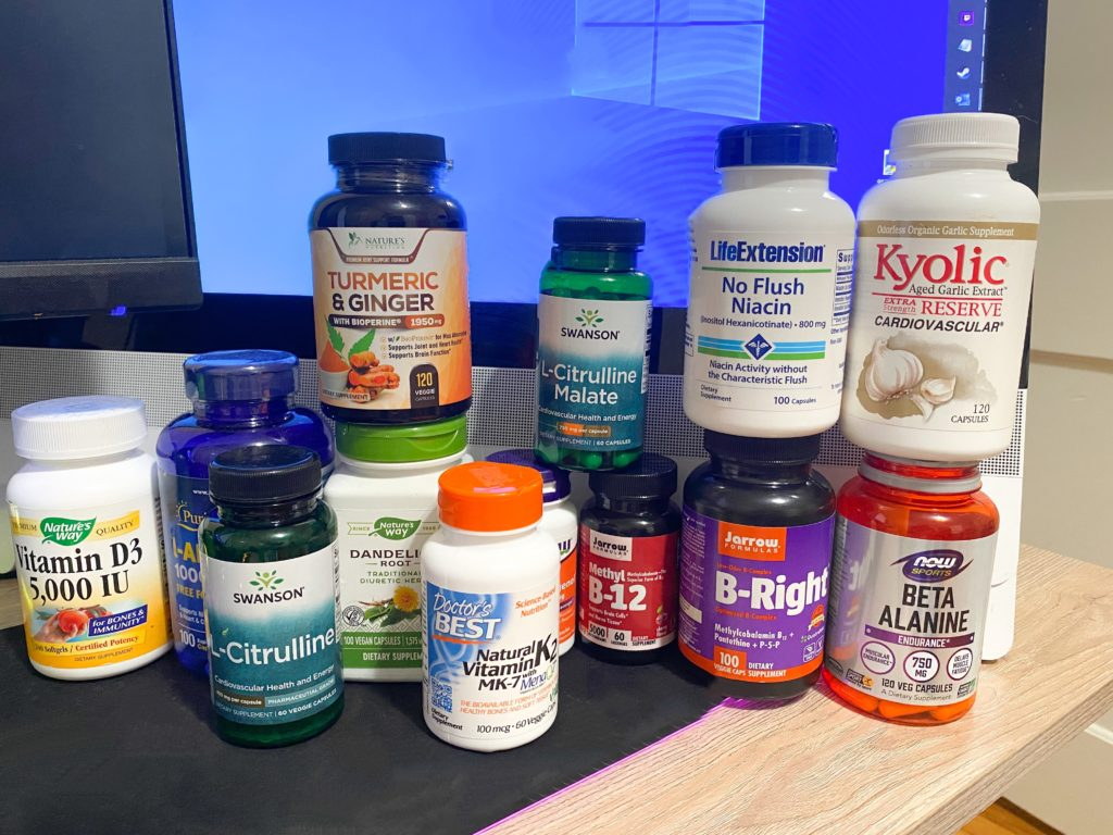 Vitamins & Supplements for Men: What Rob Takes Daily
