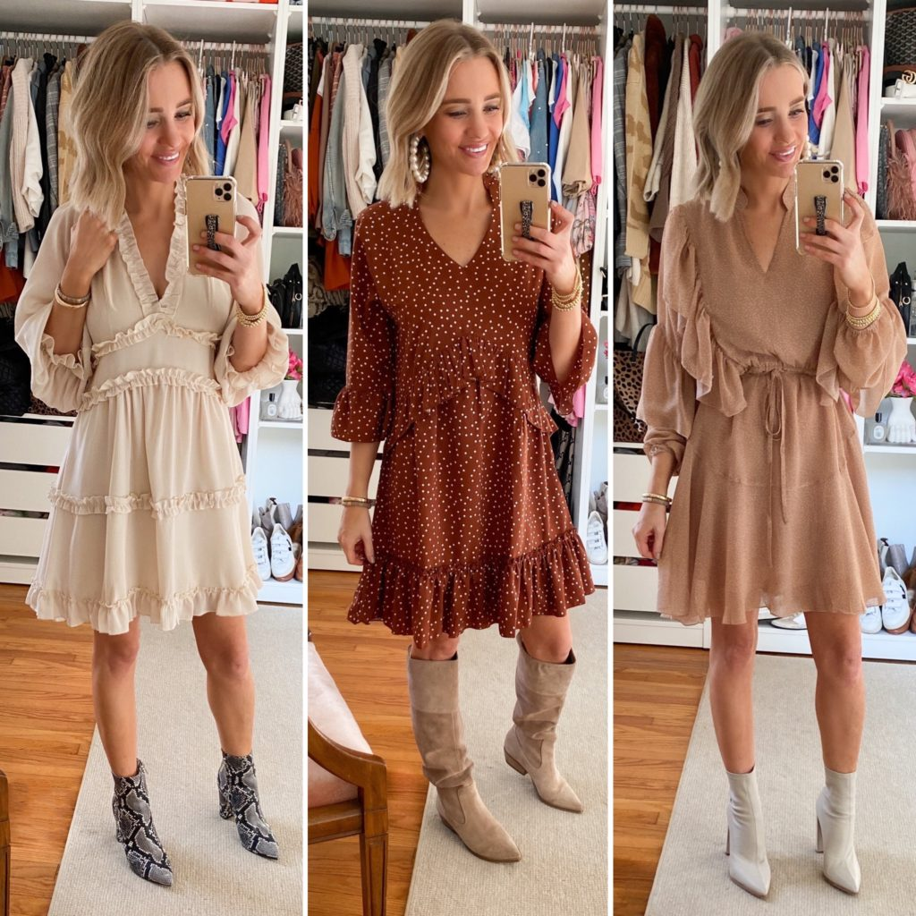 Amazon Fall Dress Try On Haul