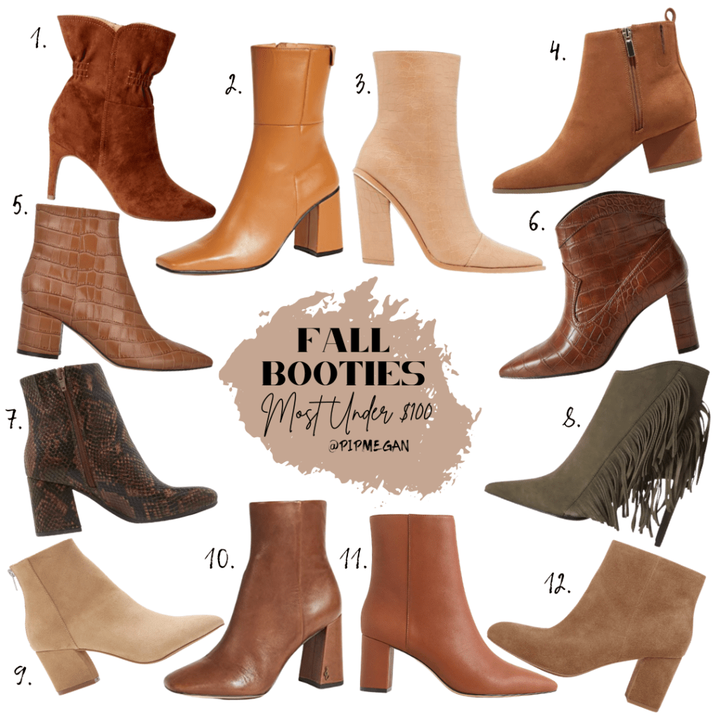 Fall Bootie Roundup