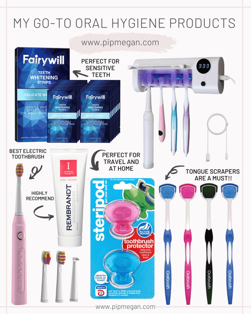 5 Favorite Amazon Oral Hygiene Products